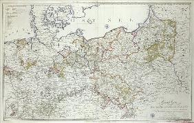 Map of the Prussian States...