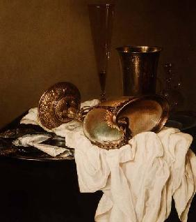 Still Life with a Nautilus Cup
