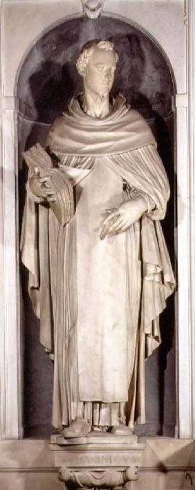St. Dominic, niche from the Salviati Chapel