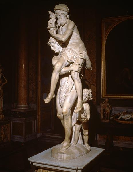 Bernini, Gianlorenzo : G.L.Bernini / Aeneas and A...