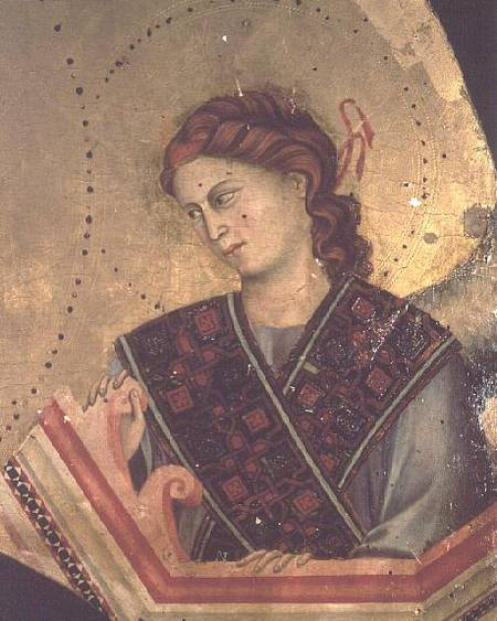 """madonna enthroned by giotto di bondone Giotto di bondone was born in vespignano, near florence, italy around 1266 and  lived  di bartolomeo ubaldini (puligo) and """"madonna enthroned"""" by giotto."""