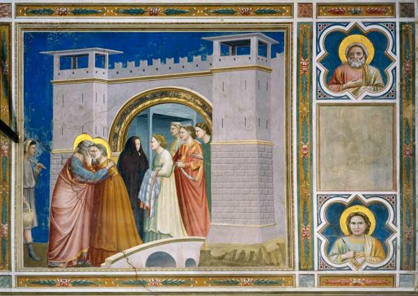 Meeting at the Golden Gate / Giotto