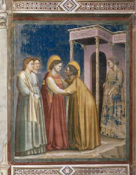 The Visitation of Mary/ Giotto/ 1303/10