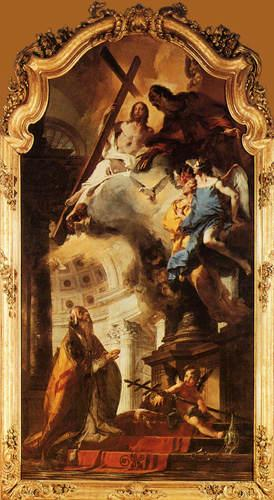 Vision of the Trinity by the Pope Clement