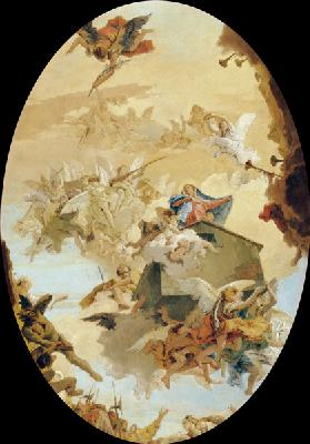 G.B.Tiepolo / Transport.of Holy House