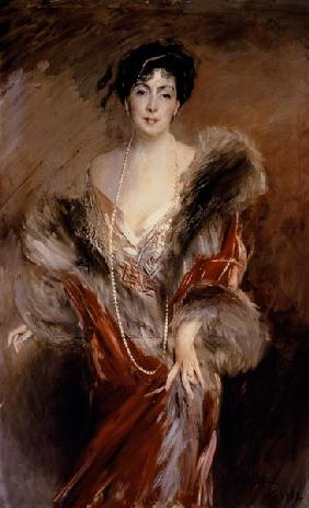 Portrait of Mrs Josefina A. De Errazuriz.