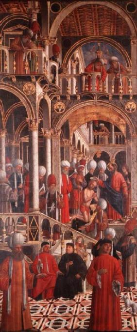The Baptism of St. Anianus by St. Mark
