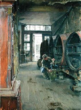 In the Vinegar Factory in Hamburg
