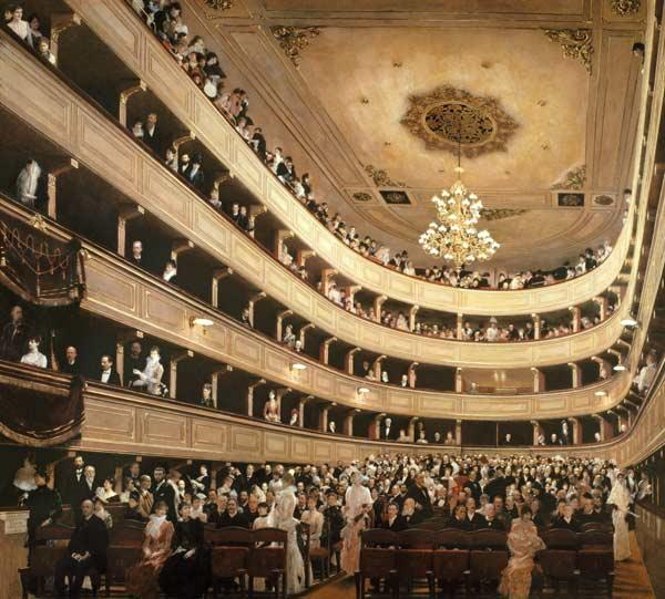 The Auditorium of the Old Castle Theatre