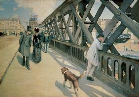 Caillebotte, Gustave : On the Europe bridge