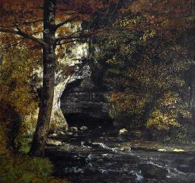 Courbet, Gustave : In the woods.