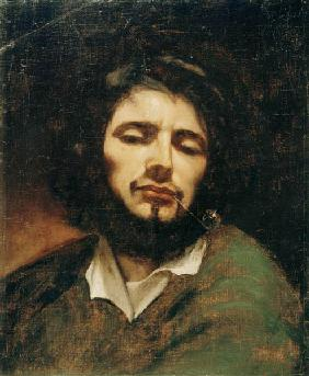 Self-portrait of the artist, man with the pipe