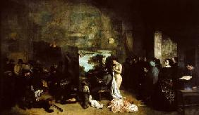 The Studio of the Painter, a Real Allegory