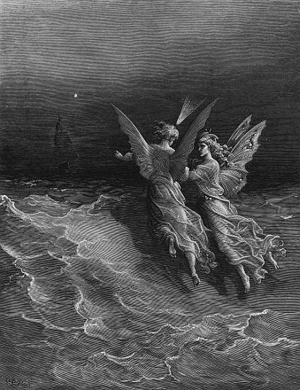 The two fellow spirits of the Spirit of - Gustave Doré