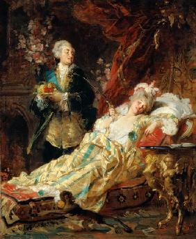 Louis XV and Madame Dubarry