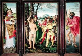 Altarpiece of the Martyrdom of St. Sebastian