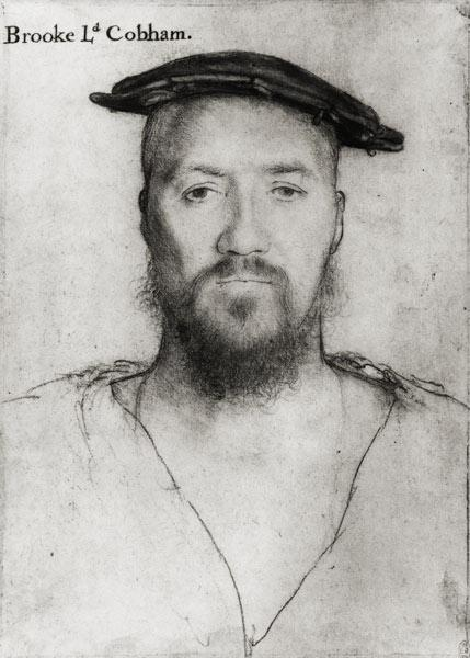 Holbein the Younger, Hans : George Brooke (drawing)