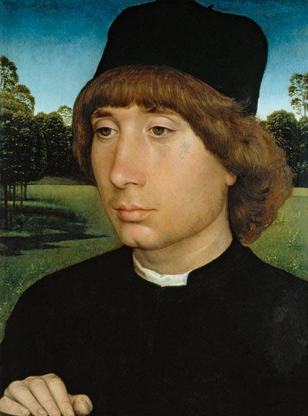 Portrait of a Young Man, c.1480 (oil on panel)