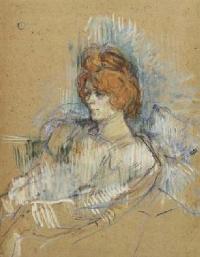 de Toulouse-Lautrec, Henri : Portrait of a lady