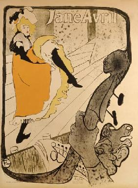 de Toulouse-Lautrec, Henri : Lithography Jane Avril