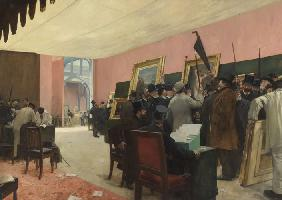 A Session of the Painting Jury