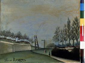 Rousseau, Henri Julien-F�lix : View of Vanves