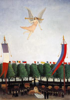 Rousseau, Henri Julien-F�lix : The liberty invites the ar...