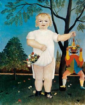 Rousseau, Henri Julien-F�lix : Child with jumping jack