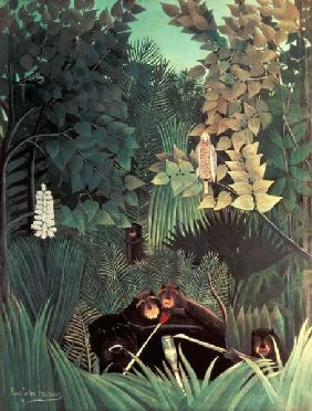 Rousseau, Henri Julien-F�lix : The Monkeys