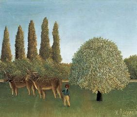 Rousseau, Henri Julien-F�lix : In the Fields