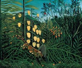 Rousseau, Henri Julien-F�lix : Tropical Forest: Battling ...