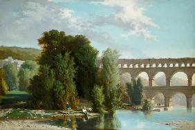Poinsot, Henri Marie : View of the Pont du Gard