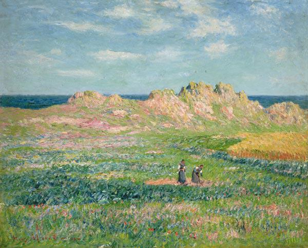 Henri Moret - On the Ile this ' Ouessant.