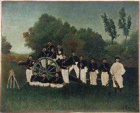 Rousseau, Henri Julien-F�lix : The artillerymans