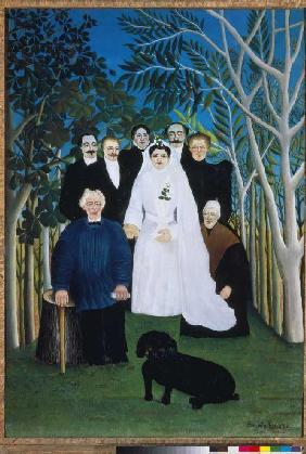 Rousseau, Henri Julien-F�lix : A wedding in the country