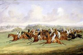 The Start of the Derby