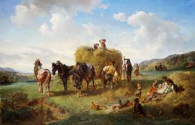 The Hay Harvest