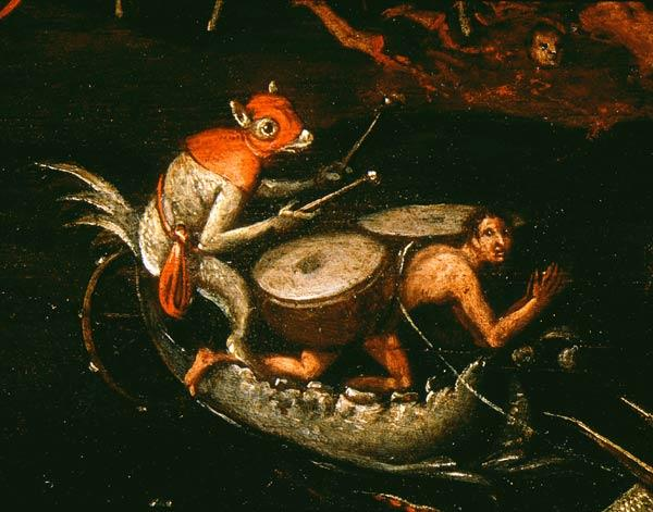 Hell (Detail) / Painting after Bosch