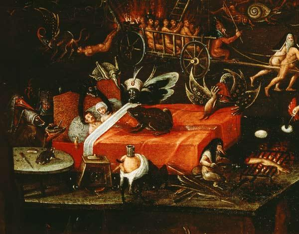 JS after Bosch (?) / Hell / detail