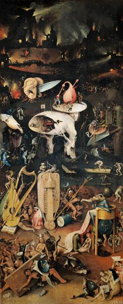 Garden of Earthly Delights - Hell (right panel)