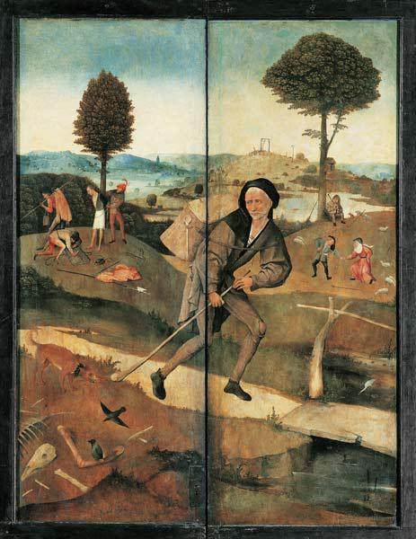 The Peddler (The Haywain Triptych, reverse)