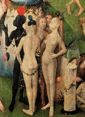 The Garden of Earthly Delights (Detail of the centre panel)