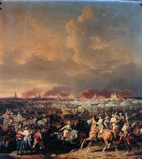 The Siege of Lille by Albert de Saxe-Tachen, 8th October 1792