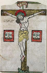 Christ at the Cross with the Coat of Arms of Tegernsee