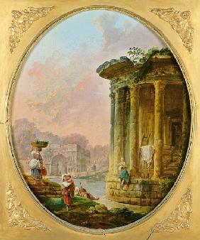 Temple of Vesta and the Arch of Janus Quadrifons