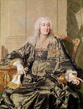 Marc Pierre de Voyer (1696-1764) Count of Argenson