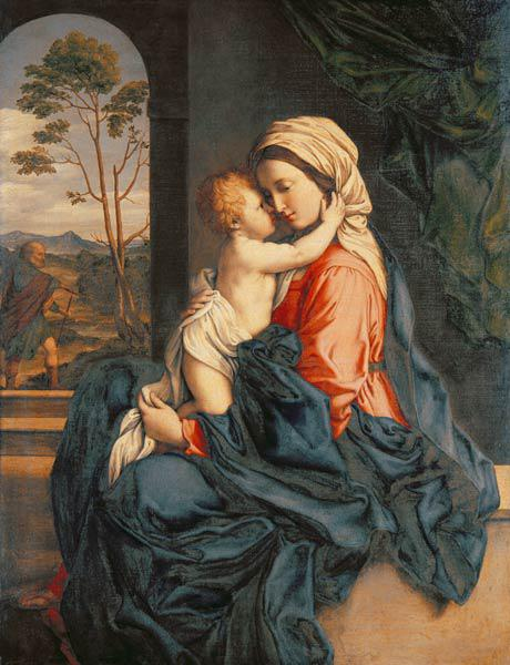 The Virgin and Child Embracing