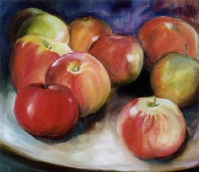 Composition from apples