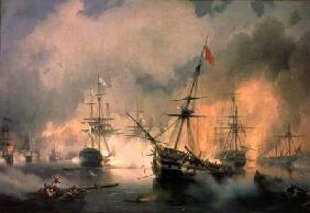 The Battle of Navarino, 20th October 1827