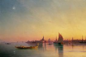 Aiwasowski, Iwan Konstantinowitsch : Venice from the Lagoon at ...
